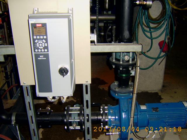 Beispiel: Hocheffizienzpumpe mit Frequenzumrichter