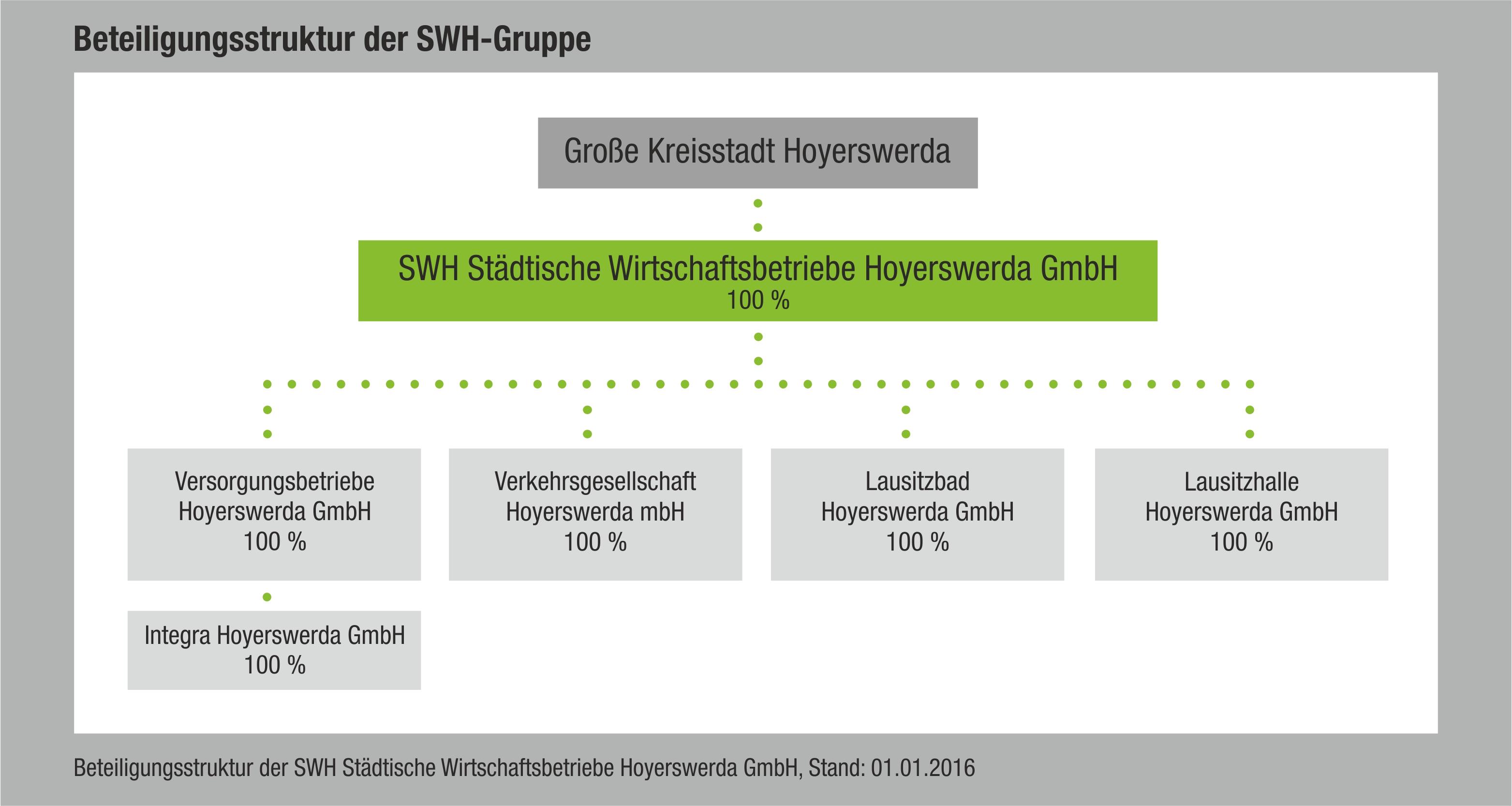 Grafik Beteiligungsstruktur